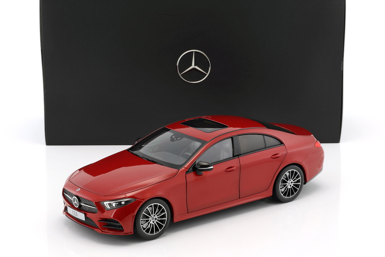 Mercedes-Benz CLS-clase Coupe c257 designo hyazinthrosso metalizado 1 18 norev