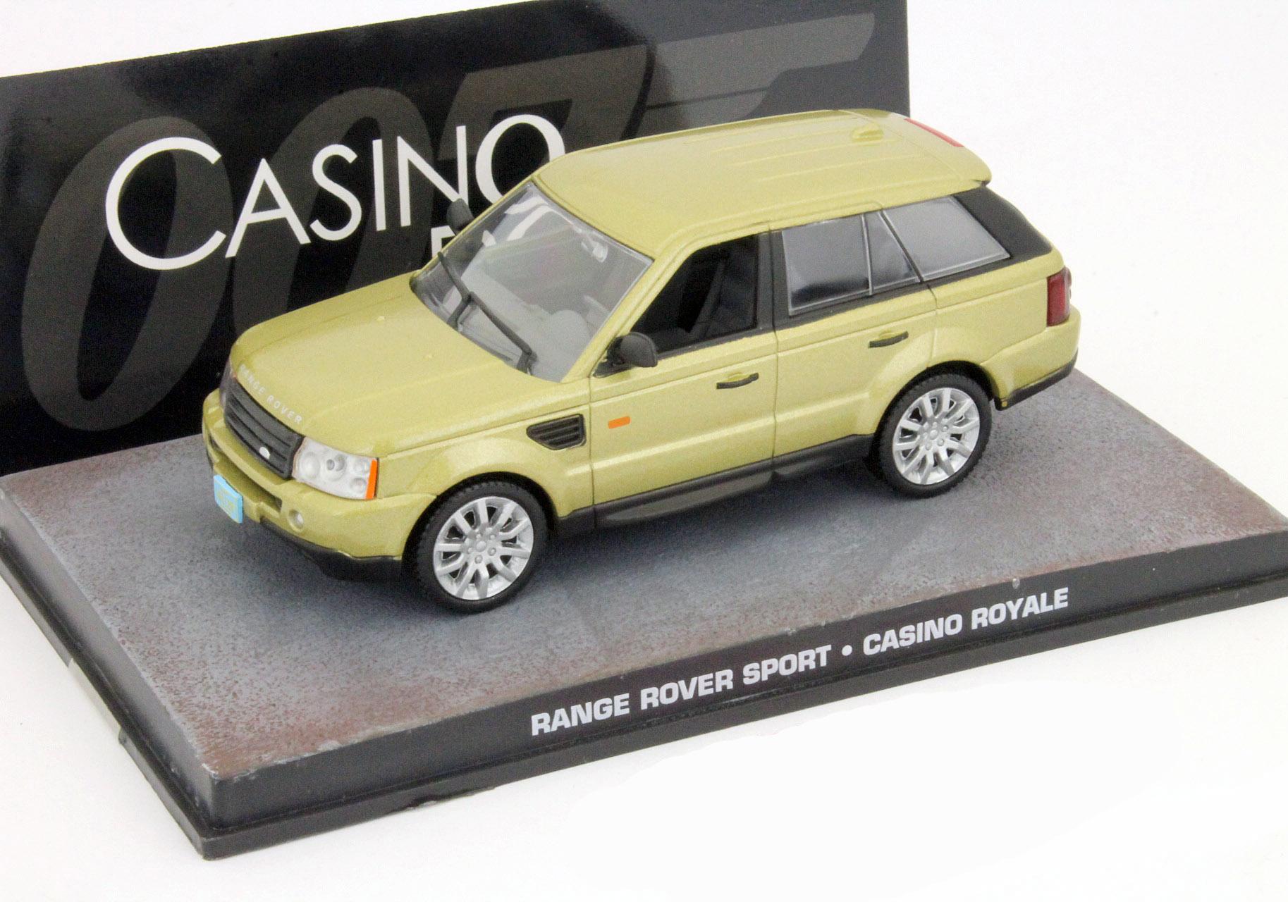 Range Rover Sport James Bond Coche de Película Casino Royale gold 1 43 Ixo